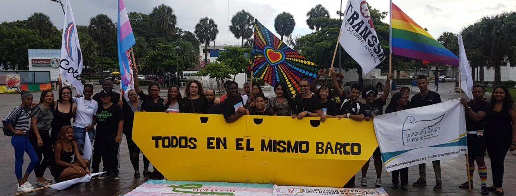 Una acción artivista para luchar contra la discriminación en República Dominicana