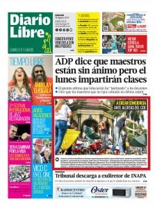 2017_08_19 Diario Libre