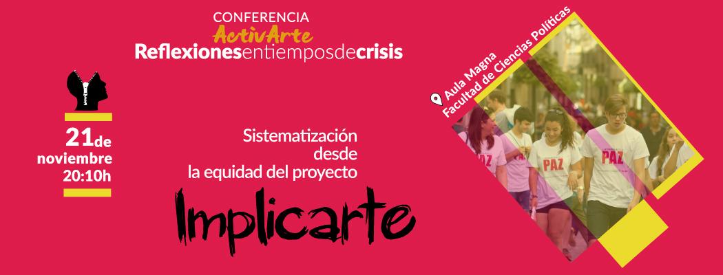 Presentamos la sistematización de ImplicArte 2016/17