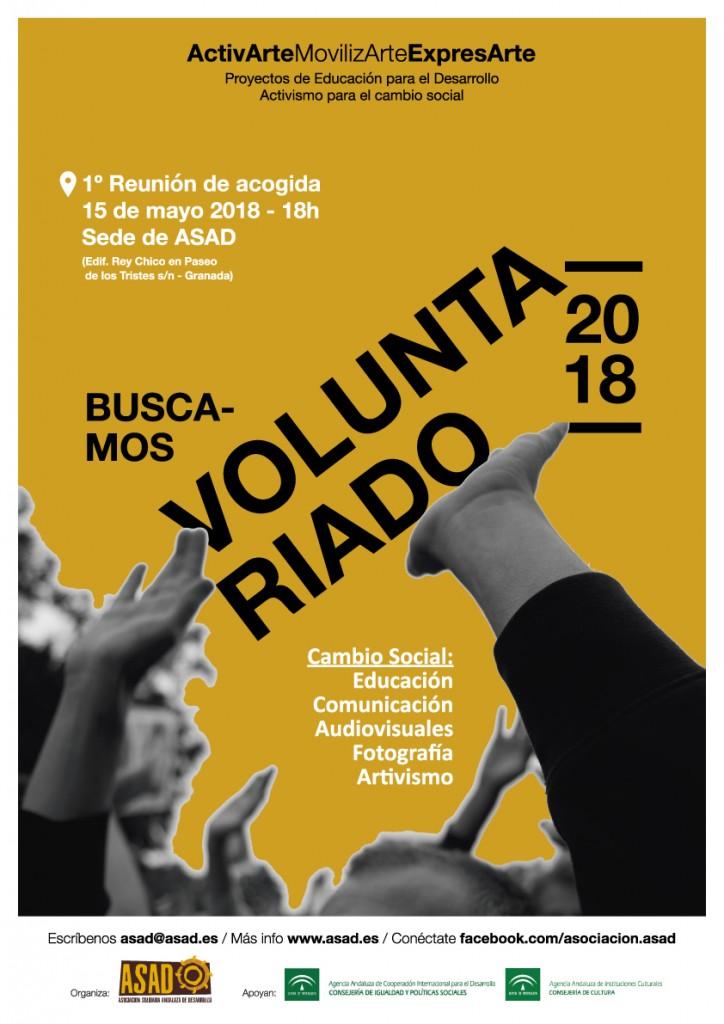 Se busca voluntariado ASAD - Granada