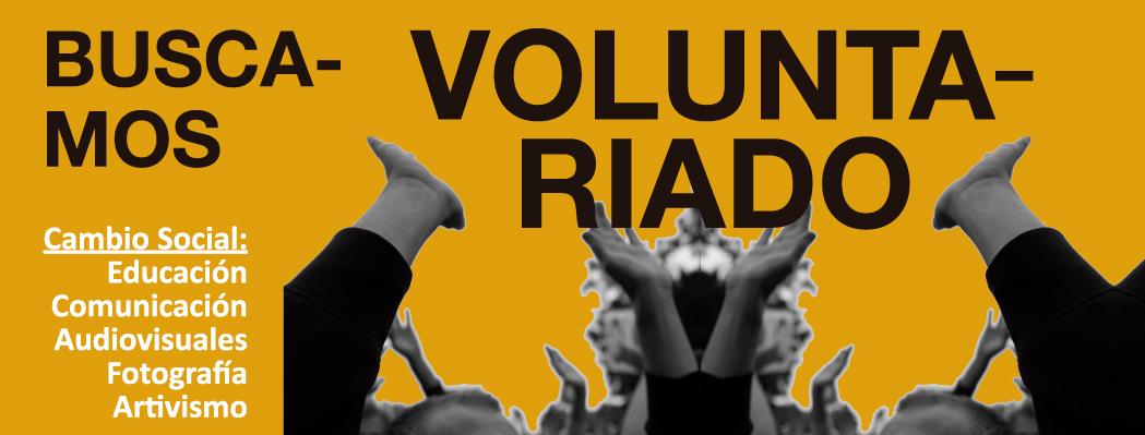 Buscamos voluntariado para el cambio social (nueva convocatoria)