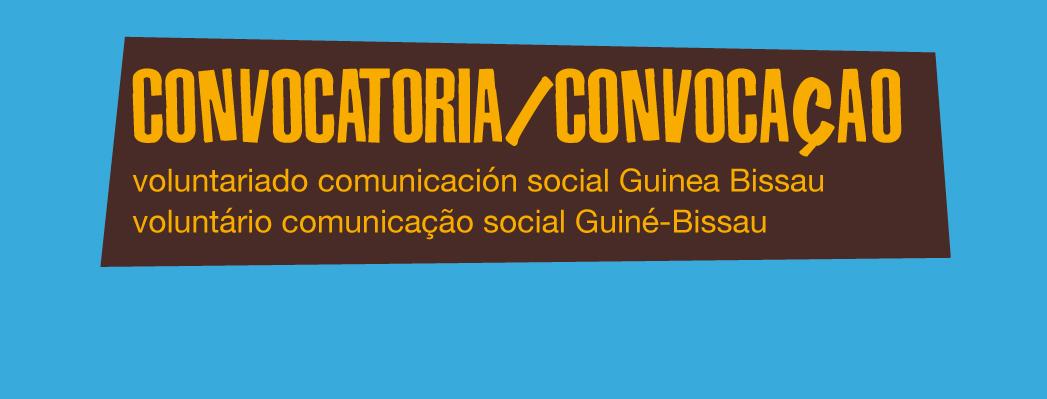 Se busca voluntariado en comunicación social en el proyecto de Guinea Bissau