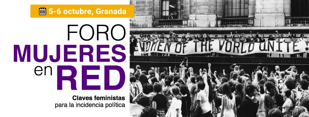 5-6 octubre FORO DE MUJERES EN RED de Granada
