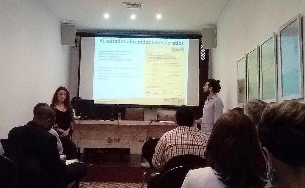Presentación ASAD en CCE Santo Domingo