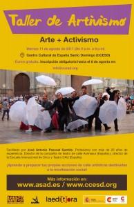 Afiche taller artivismo def-01