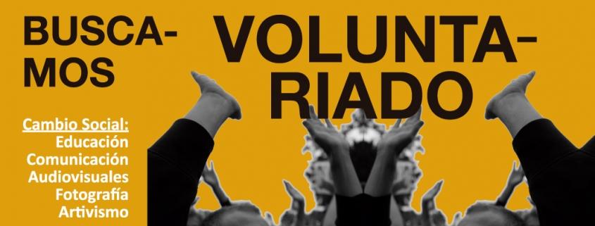 se busca voluntariado ASAD